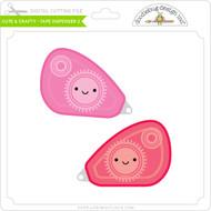 Cute & Crafty - Tape Dispenser 2