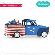 XL Box Card Truck July 4