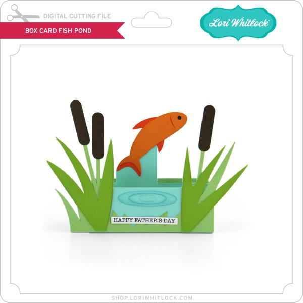 Download Box Card Fish Pond Lori Whitlock S Svg Shop