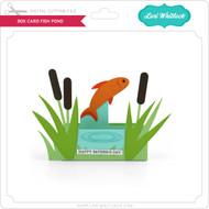 Box Card Fish Pond