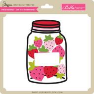 Fresh Market - Jar of Strawberries