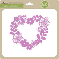 Floral Heart Wreath 2