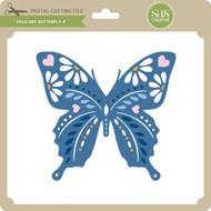 Folk Art Butterfly 4