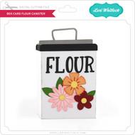 Box Card Flour Canister