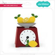 Box Card Lemon Scale