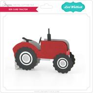Box Card Tractor