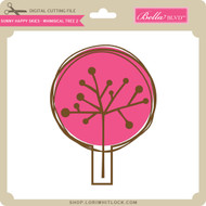 Sunny Happy Skies - Whimsical Tree 2
