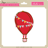 Sunny Happy Skies - Hot Air Balloon