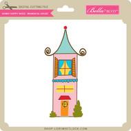 Sunny Happy Skies - Whimsical House