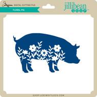Floral Pig