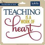 Teaching Work of Heart