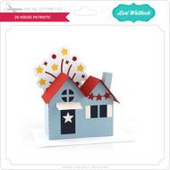 3D House Patriotic