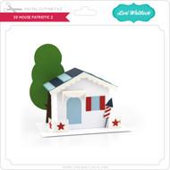 3D House Patriotic 2