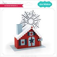 3D House Patriotic 3