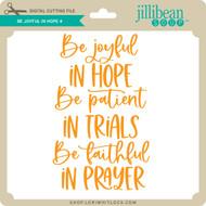 Be Joyful in Hope 4