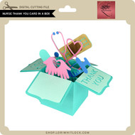 Nurse Thank You Card in a Box