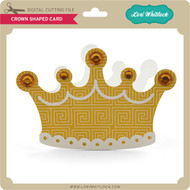 Crown Shaped Card