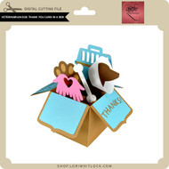 Veterinarian Dog Thank You Card in a Box