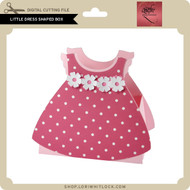 Little Dress Shaped Box