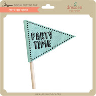 Party Time Topper