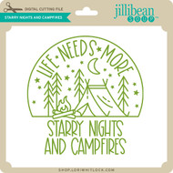 Starry Nights and Campfilres