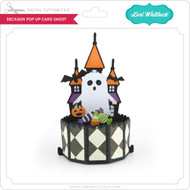 Decagon Pop Up Card Ghost
