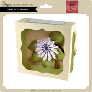 Daisy Gift Card Box