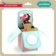 Box Card Easter