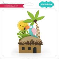 Box Card Island Hut