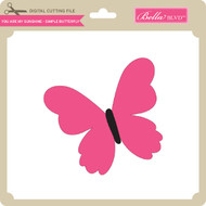 You Are My Sunshine - Simple Butterfly