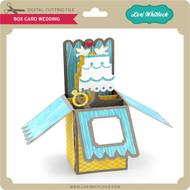 Box Card Wedding