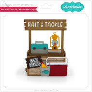 Rectangle Pop Up Card Fishing Stand