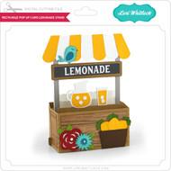 Rectangle Pop Up Card Lemonade Stand