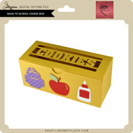 Back to School Cookie Box