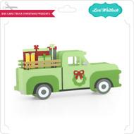 Box Card Truck Christmas Presents