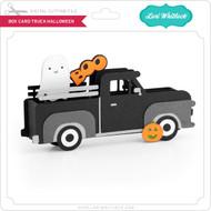 Box Card Truck Halloween