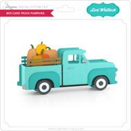 Box Card Truck Pumpkins