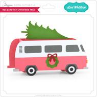Box Card Van Christmas Tree