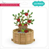 Decagon Pop Up Card Apple Tree