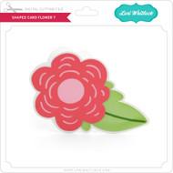 Shaped Card Flower 7