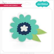 Shaped Card Flower 8