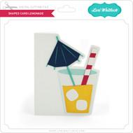 Shaped Card Lemonade