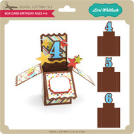 Box Card Birthday Ages 4-6
