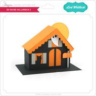 3D House Halloween 3