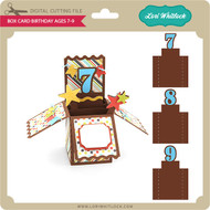Box Card Birthday Ages 7-9