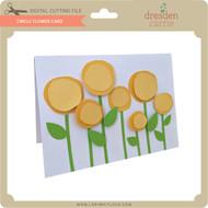 Circle Flower Card