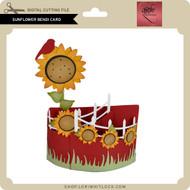 Sunflower Bendi Card