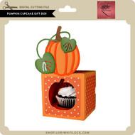 Pumpkin Cupcake Gift Box