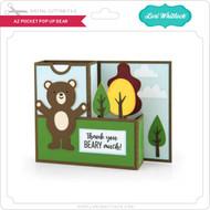A2 Pocket Pop Up Card Bear
