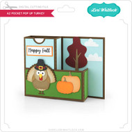 A2 Pocket Pop Up Card Turkey